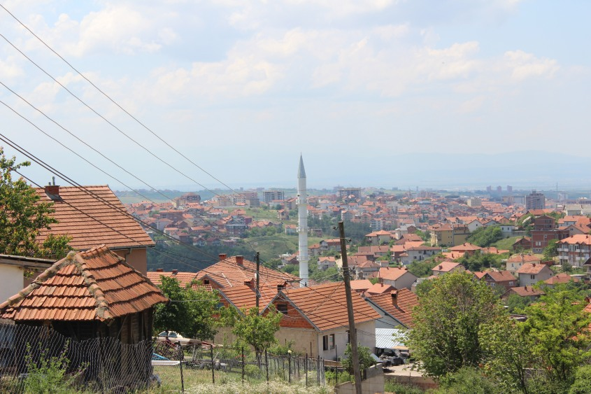 The outskirts of Pristina, Kosovo