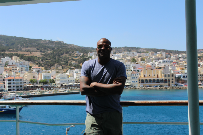 Setting sail within the Greek Islands. 2014
