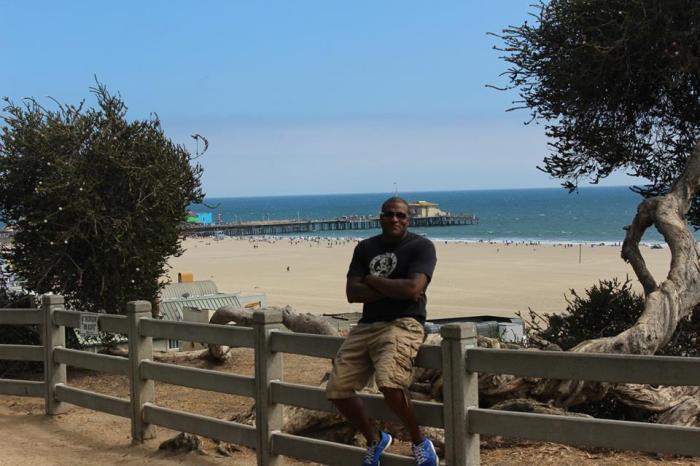 Leaving Santa Monica. May 2013.