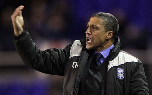 Birminghams Chris Hughton. Courtesy of Getty Images