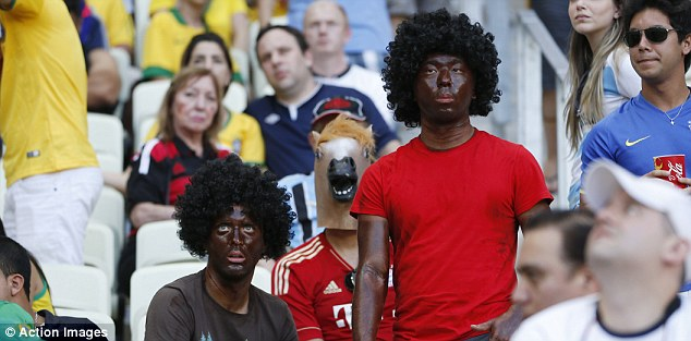 German Fans vs Ghana. World Cup 2014. Getty Images