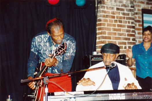 Johnnie Johnson and Chuck Berry. Photo used by kind permission. Getty Images. 2015