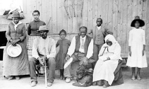Harriet Tubman and Family. Copyright controlled. New York Times 2015