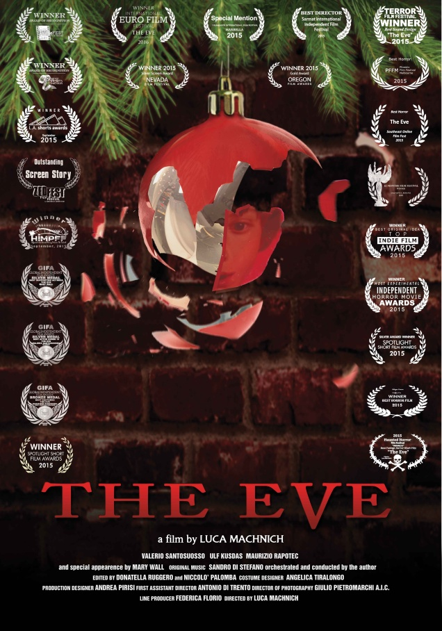 The Eve Short Film promotional poster. Used By Kind permission. 2016