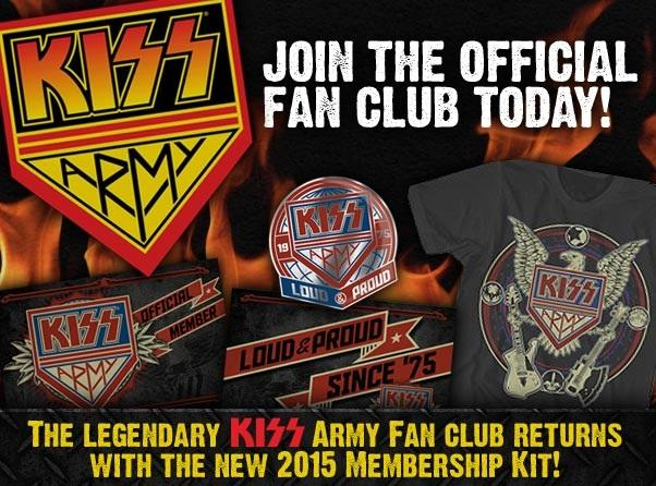 Kiss Army advert. Getty Images. 2016