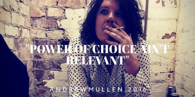Power of Choice. Andrew Mullen.